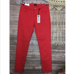 Just Black Stitch Fix Jeans Denim Coral Skinny